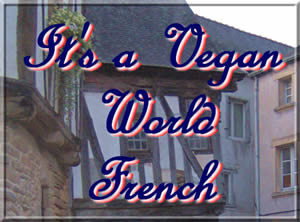 It s a Vegan World - French