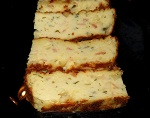 Potato gateau with coriander