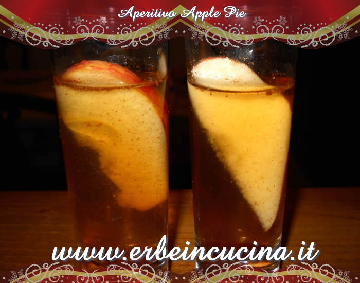 Aperitivo Apple pie